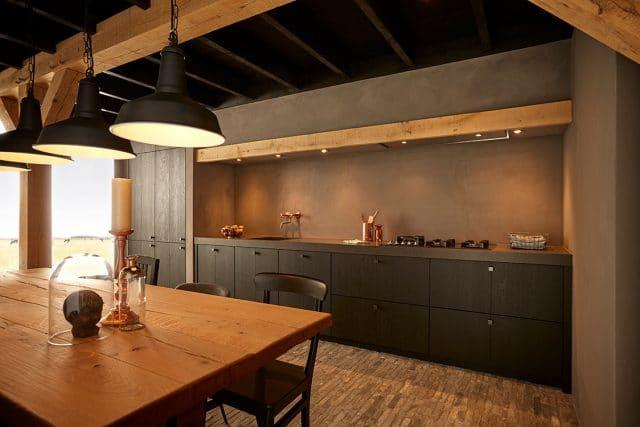 25 Landelijke Keuken Black Cottage Structuurlak Zwart