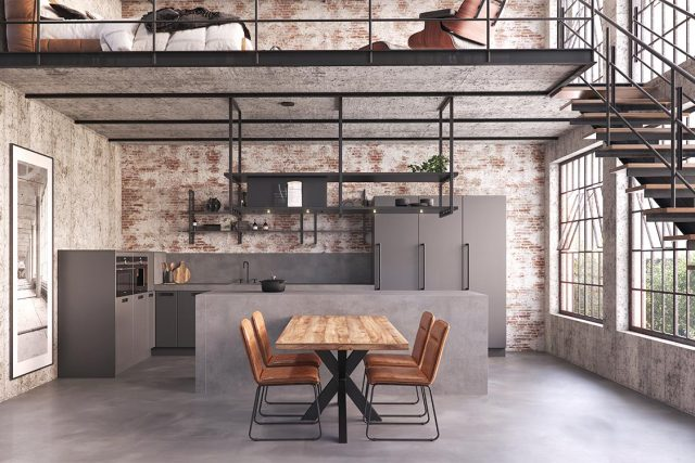 35 Industriele Keuken Rock Solid Hoofdbeeld 1