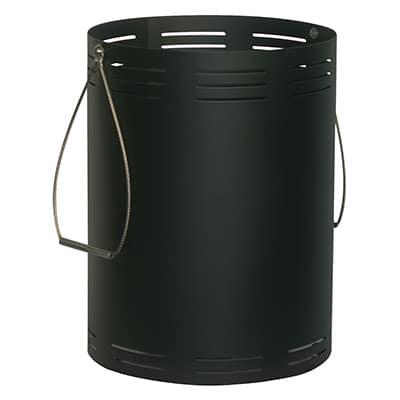 Houtbak 117/500 zwart