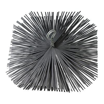 Staalborstel vierkant