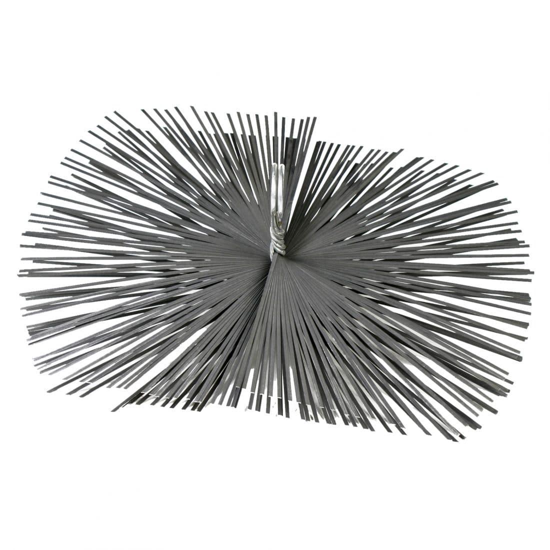 Staalborstel rechthoekig 25 x 40 cm