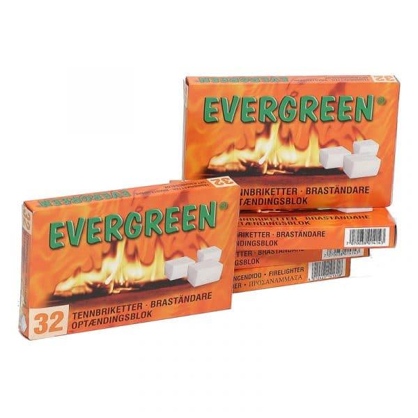 Evergreen aanmaakblokjes