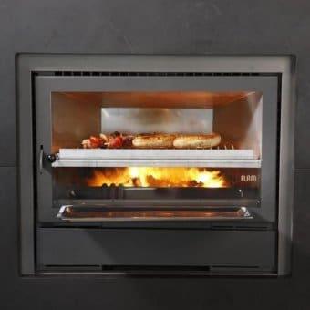 Barbecuedeur voor Flam toestel