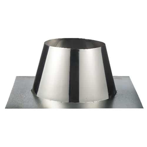 ISOduct dakdoorvoer plat (plakstuk)