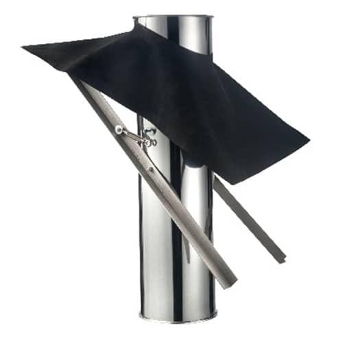 ISOduct dakdoorvoer rieten dak