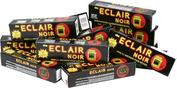 Kachelpoets zwart Eclair noir