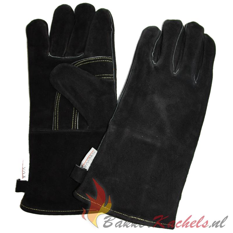 Stovax hittebestendige lederen handschoenen