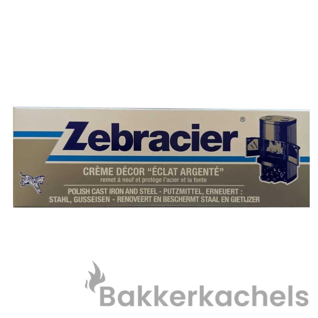 Tube Zebracier Kachelpoets 100ml Grijs