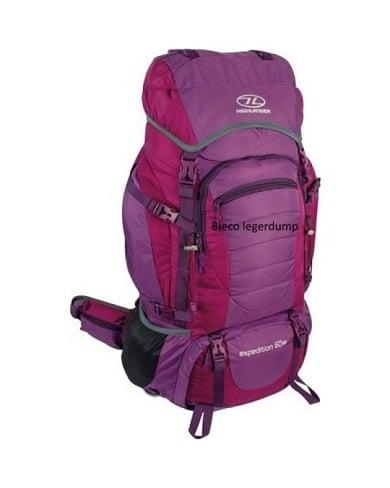 Highlander Expedition W Dames Backpack 60l Paars Bieco Legerdump 600x750 2
