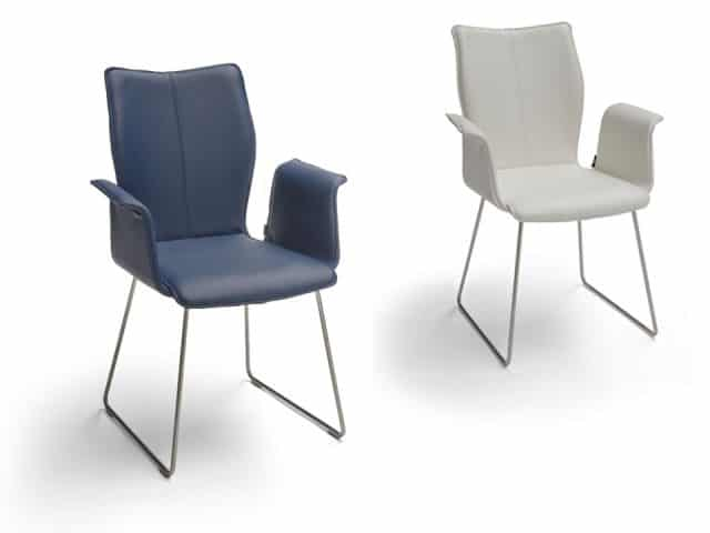 Design Dining Chair With Armrests Cantilever Chair Ace Ii Ga