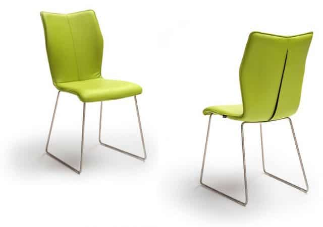 Ace Ii G Design Dining chair Leather Green Lime