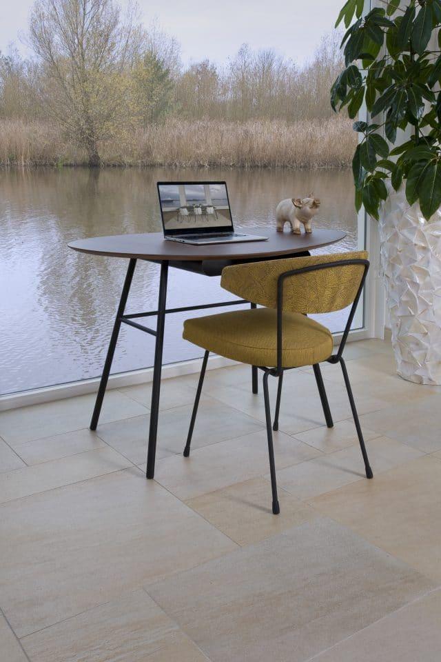 Zuhause-Arbeitsplatz-Wohnzimmer-Schreibtisch-Tisch-Twinny-Schreibtisch