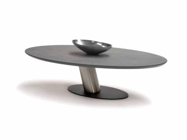Waage Oval Couchtisch Design Hpl