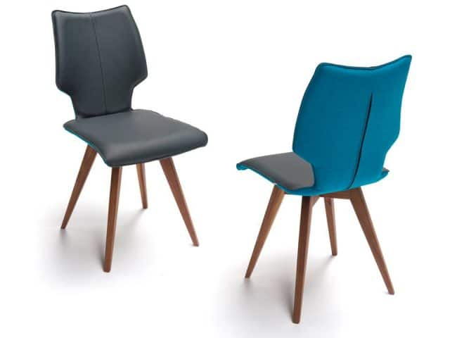 Spin F Design Chairs With Wooden Legs Nuts