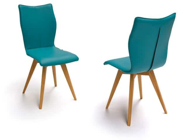Spin G Design Chairs With Wooden Legs Oak