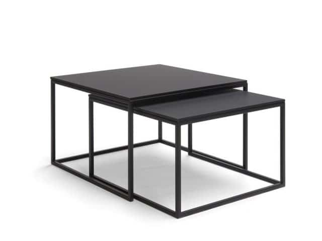 Side tables Design Black Frame Fenix