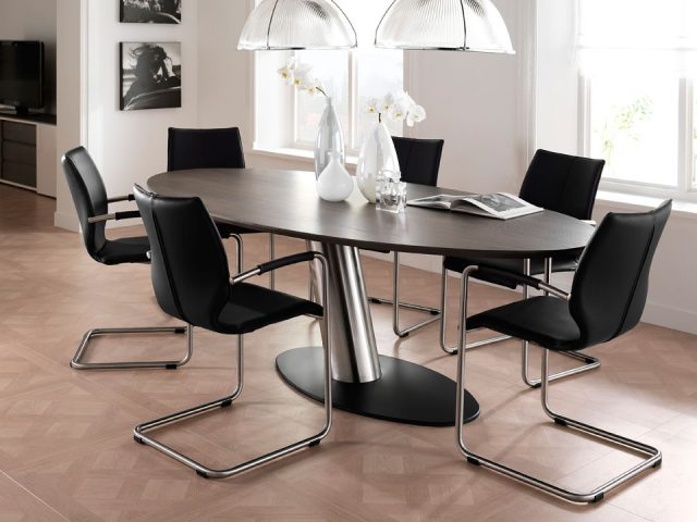 Design Dining room table Oval Libra Breesnewworld