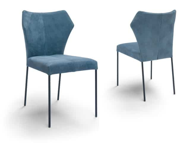 Fly Dining Chairs Leather Blue Breesnewworld Chairs