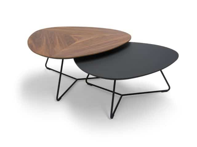 Coffee tables Twinny Walnut Veneer Fenixntm Breesnewworld