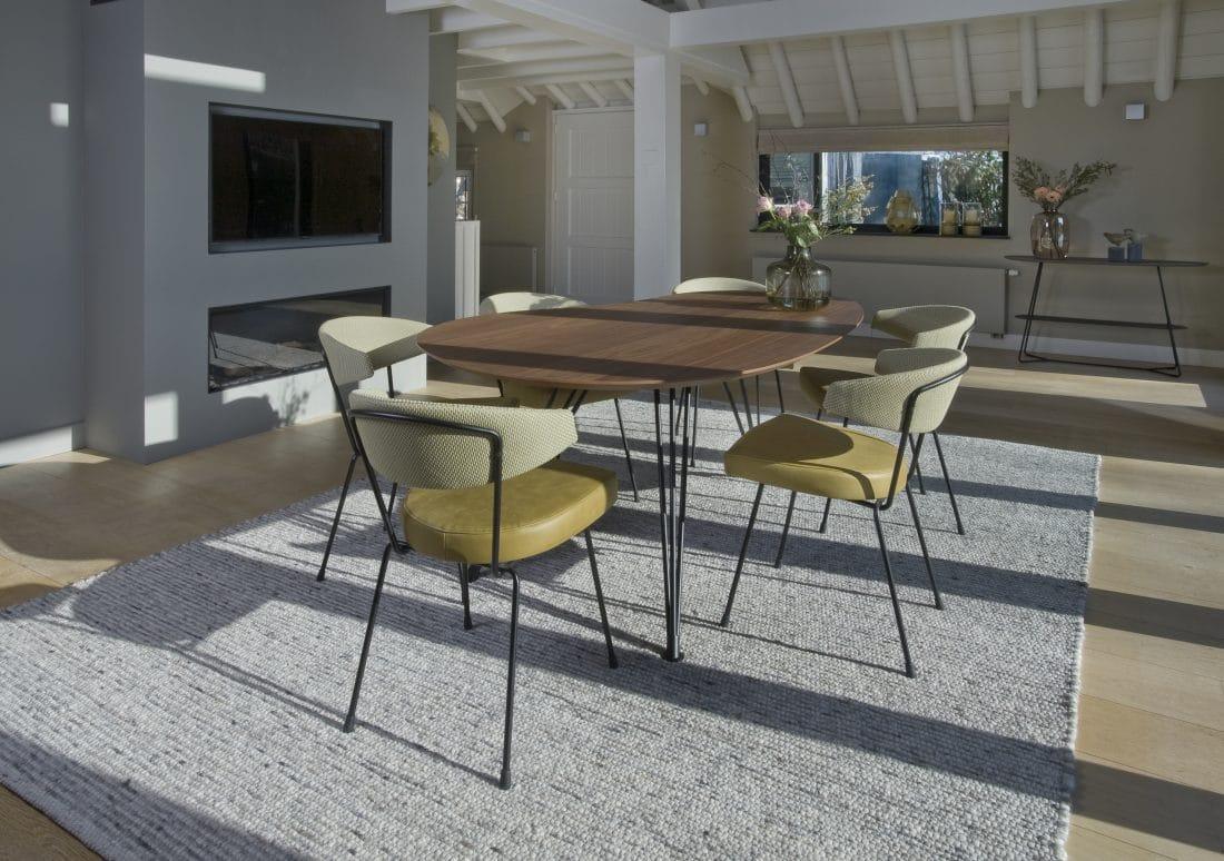 Cloudy Eettafel Noten Slice Eetkamerstoelen Modern Design Eetkamer Ideeen Scaled