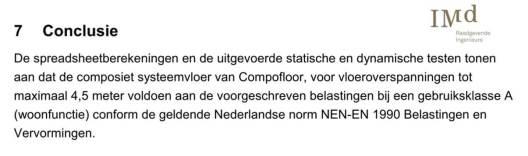 Conclusie Rapportage Compofloor Imd