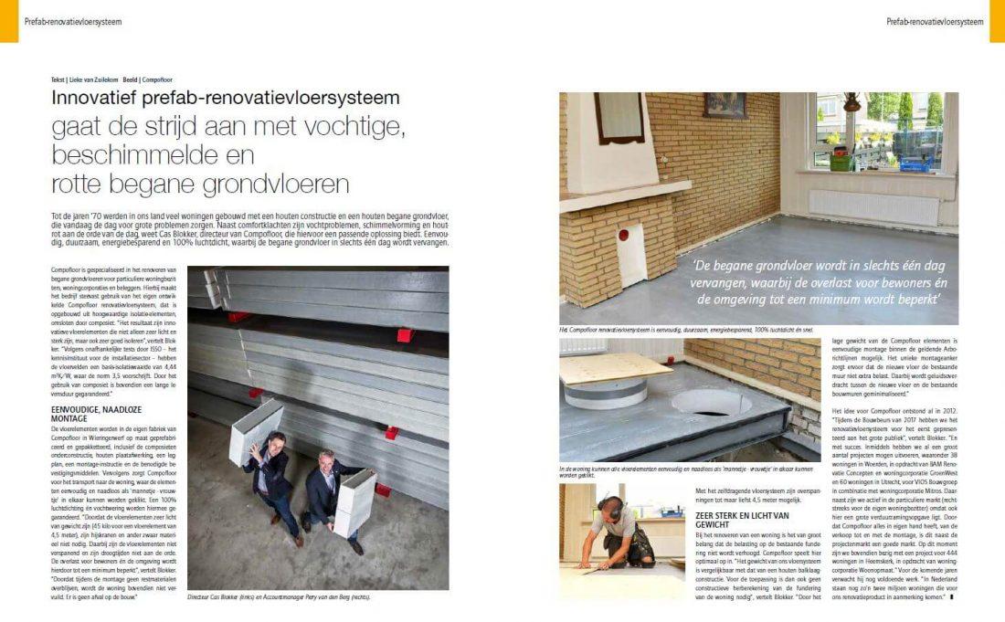 Compofloor In Stedenbouw Magazine