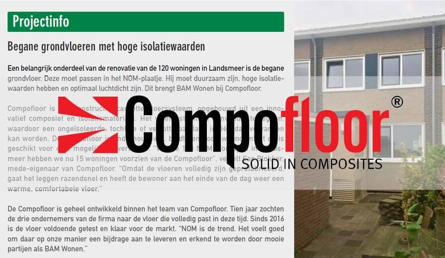 Compofloor Landsmeer Bam Wonen Stedenbouw 1