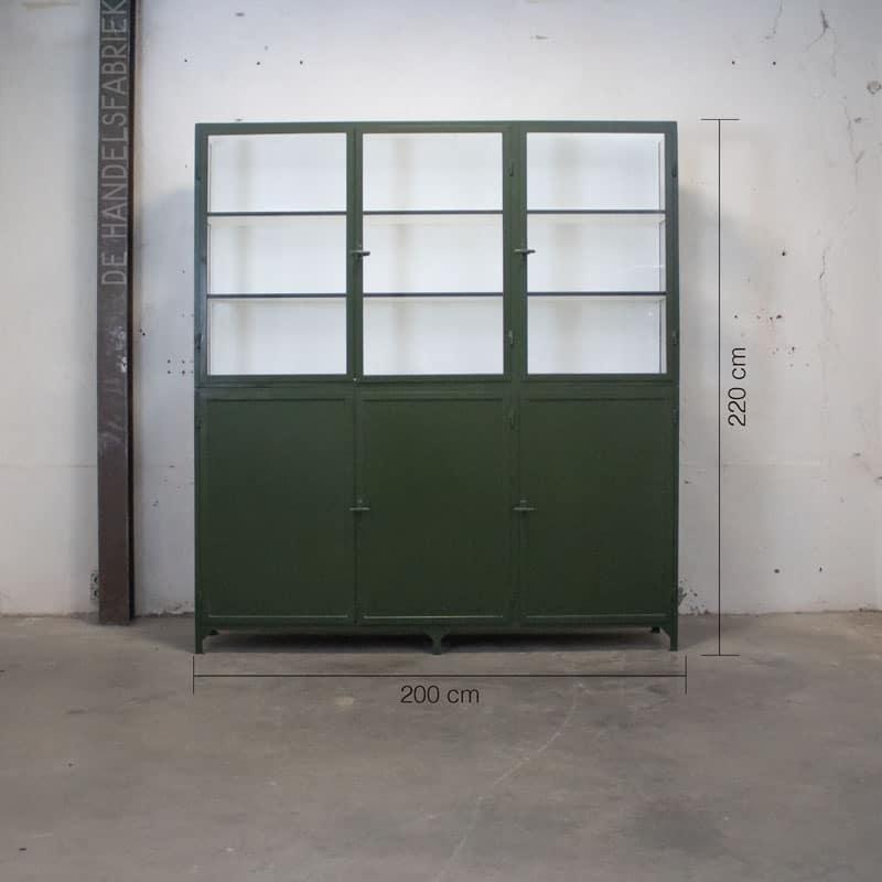 Apothekerskast Szep Green 6 Deurs