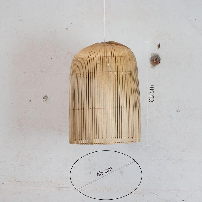 Bamboe Lamp Large