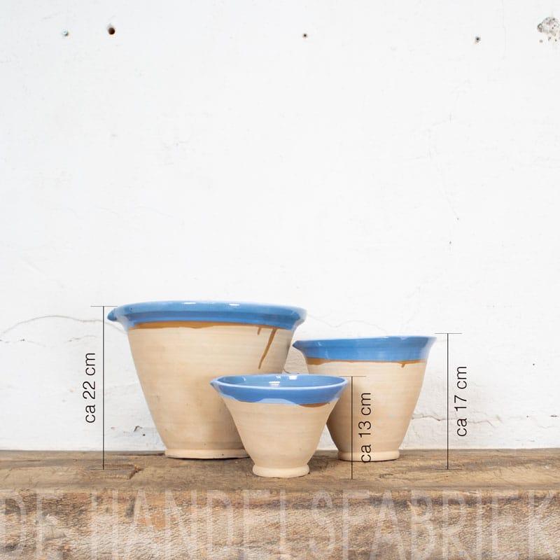 Blauwe Keramieken Schalen Set