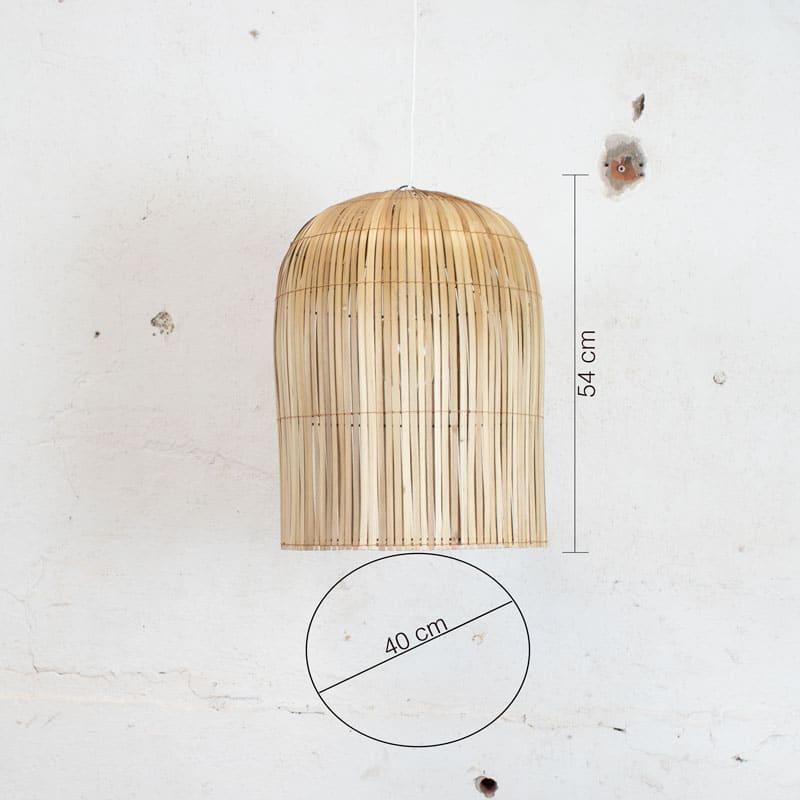 Bamboe Lamp Medium