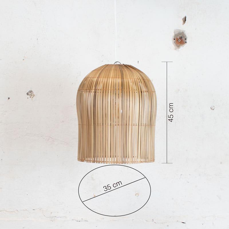 Bamboe Lamp Small