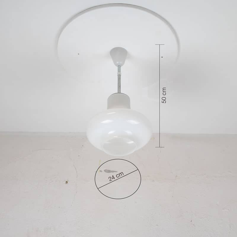 Retro Melkglazen Lamp