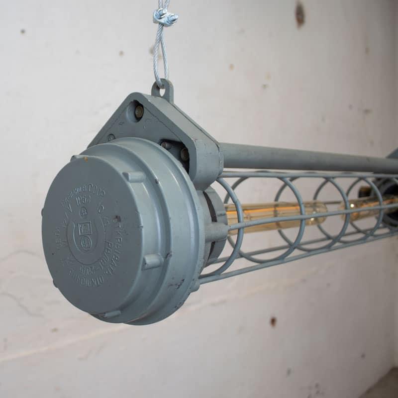 Industrile Tube Lamp Cccp Groen