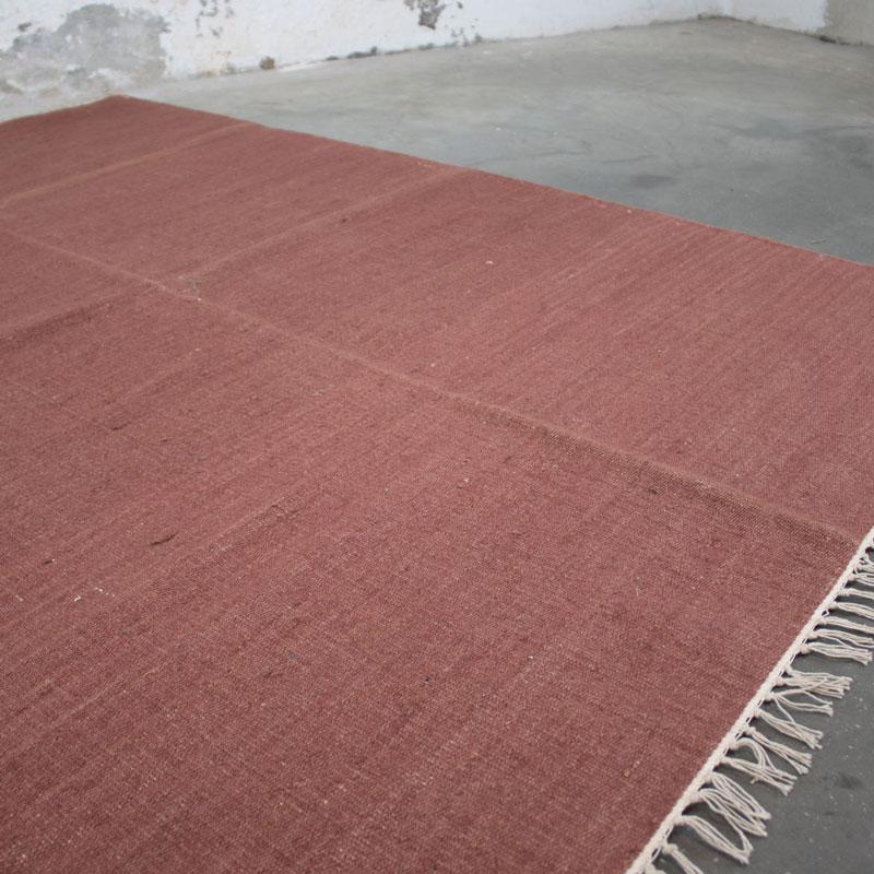 Vloerkleed Bordeaux Rood