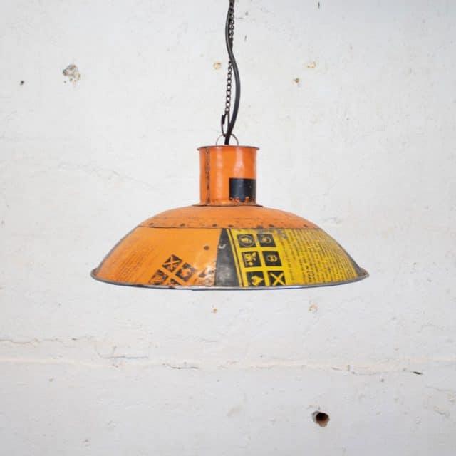 275 Oranje Hanglamp 02