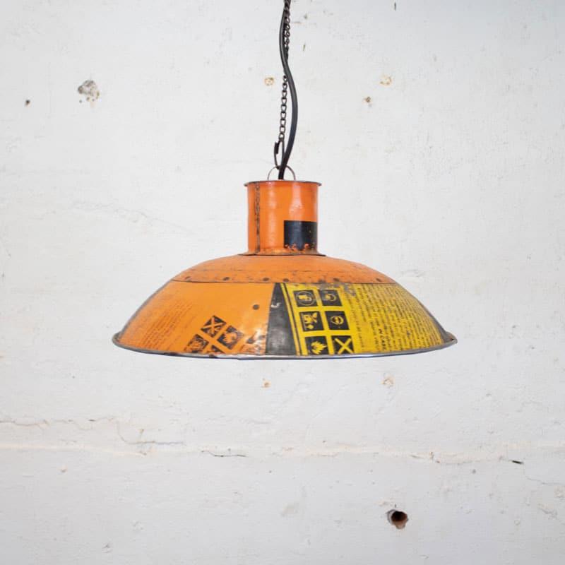 Stoere Hanglamp Van Oude Vaten
