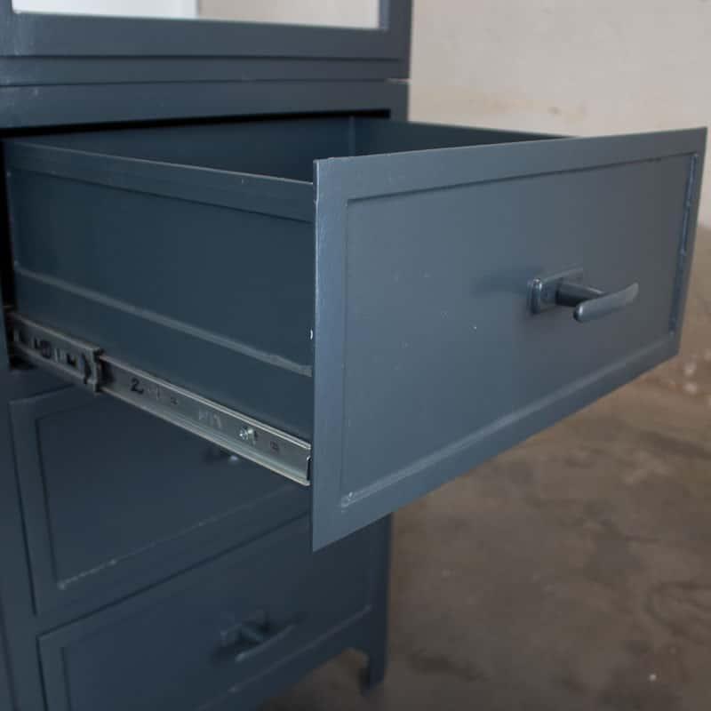 Apothekers Maatwerkkast Granite Grey Szep 5 Deurs