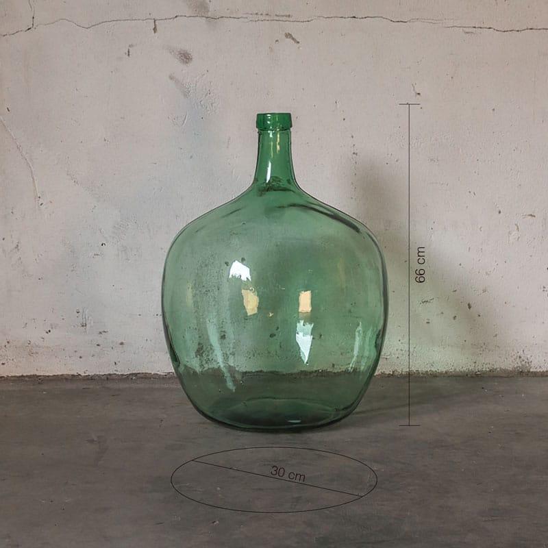 Glazen Pot Groen Groot