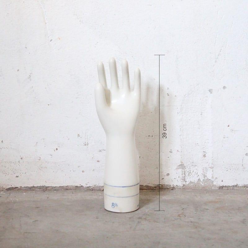 Porseleinen Handschoen Mal