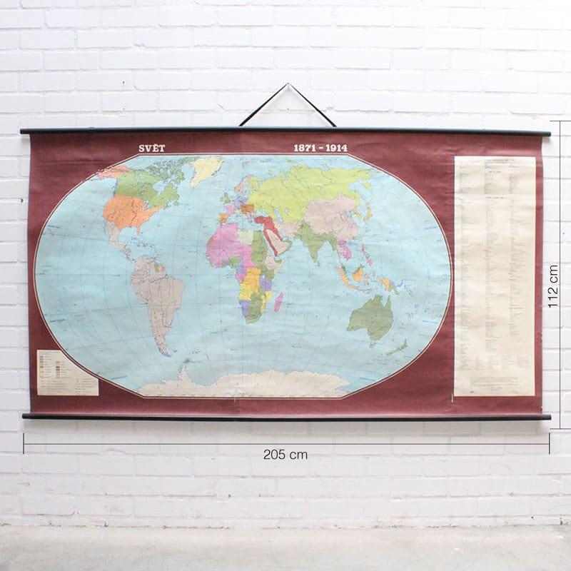 Wereldkaart 1871 8211 1914