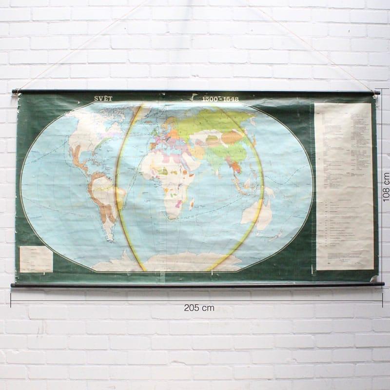 Wereldkaart 1500 8211 1648