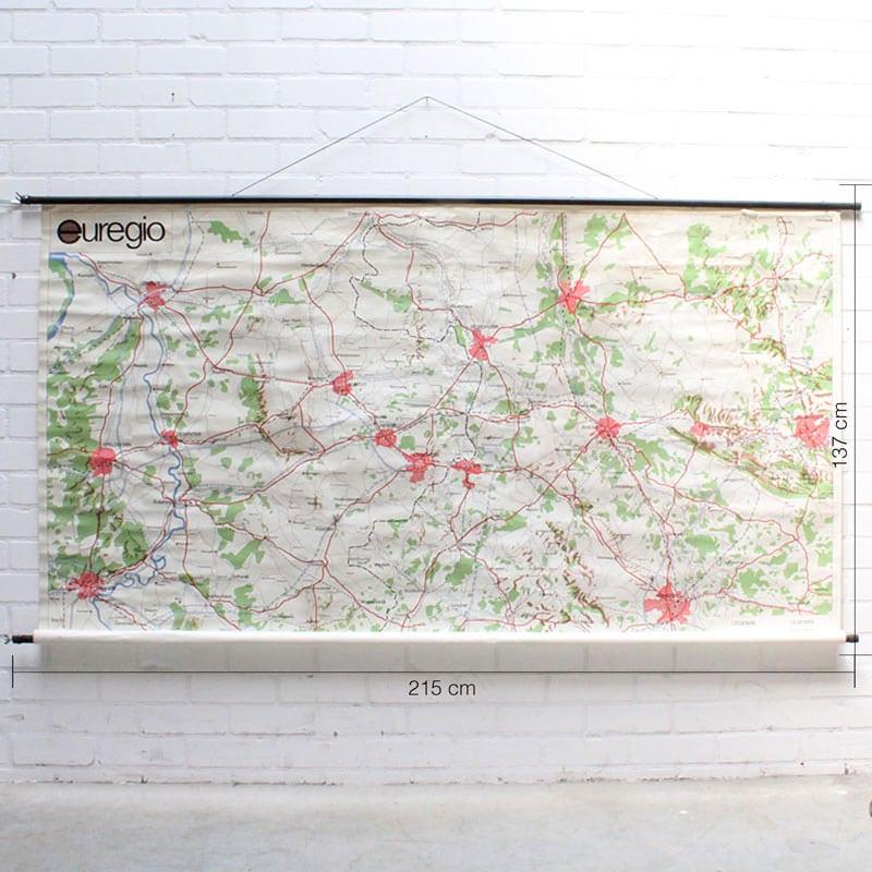 Landkaart Grensgebied Nederland 8211 Duitsland