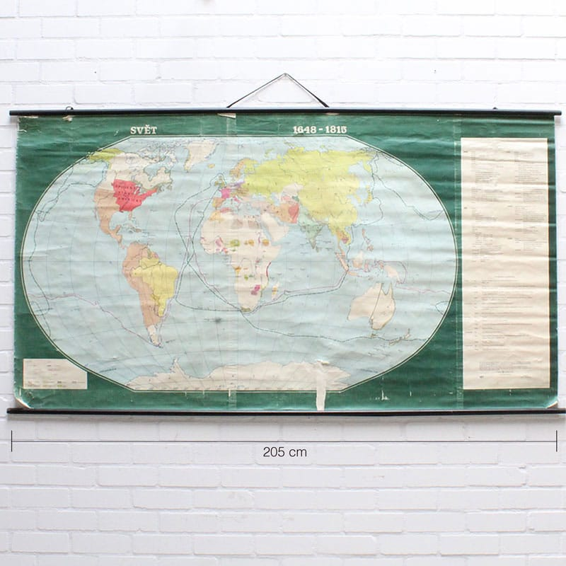 Wereldkaart 1648 8211 1815
