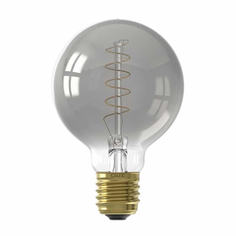 Calex Titanium Globe Bulb Led Lamp S E27 8211 100 Lumen