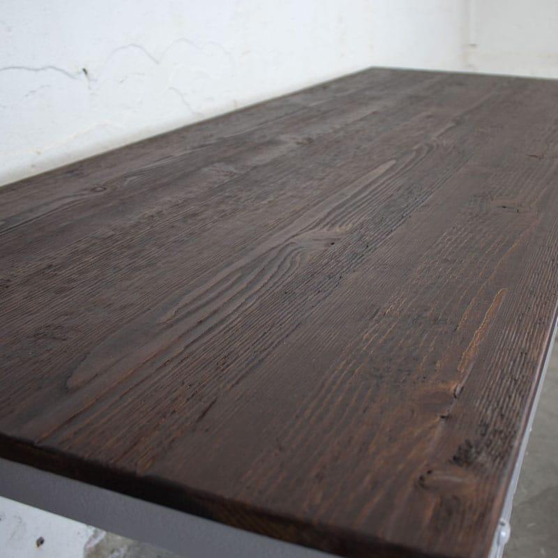 Poolse Klaptafel Met Old Look Wood Donker Bruin