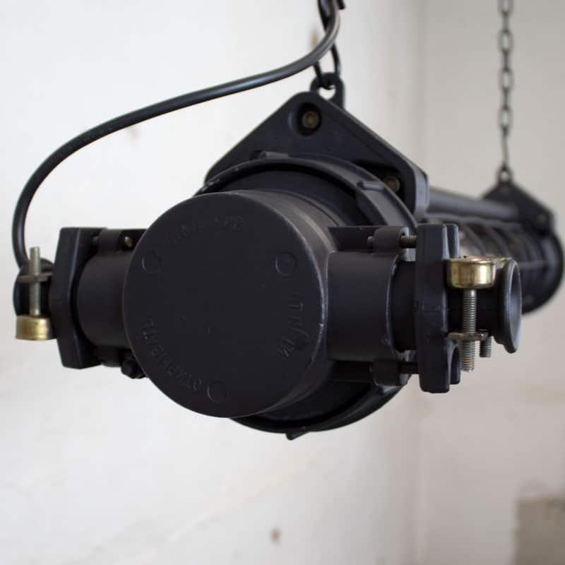 Industrile Tube Lamp Cccp Zwart