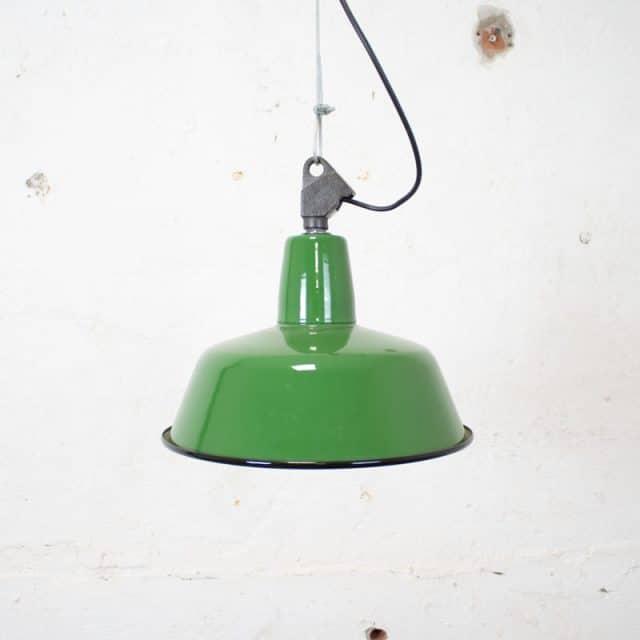 300 Groene Hanglamp 01
