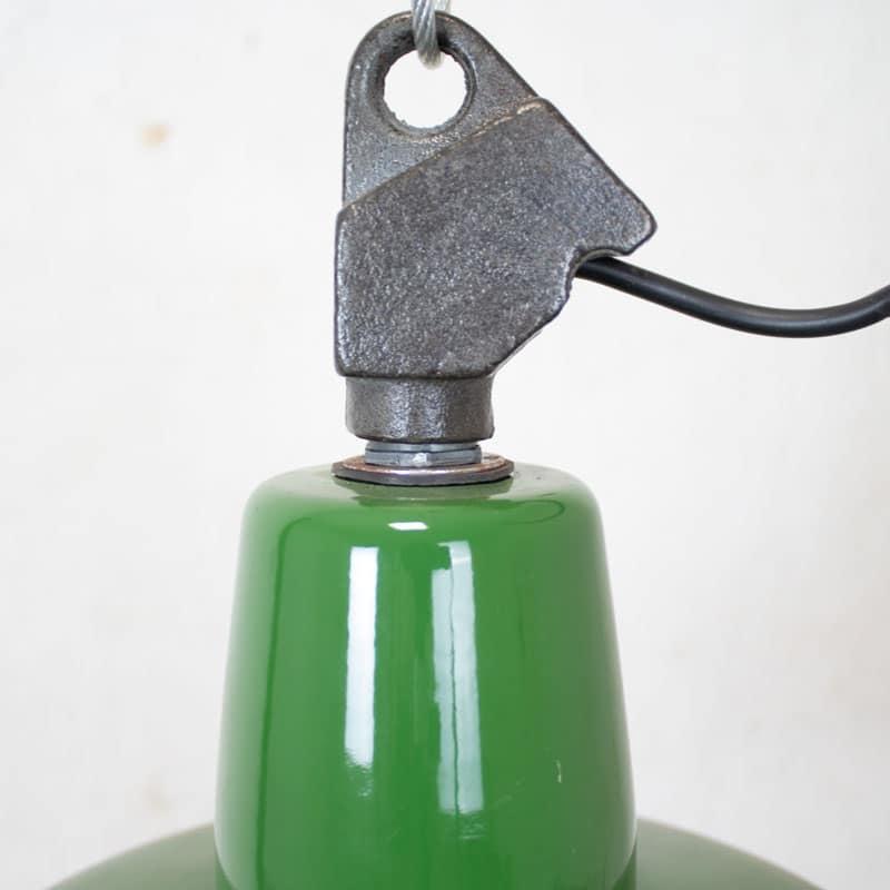 Emaille Hanglamp Groen