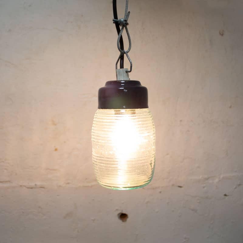 Kleine Honinglamp Stalen Deksel